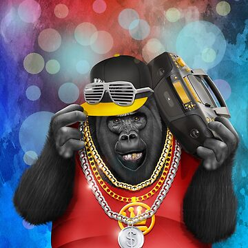 Funky Gorilla by GreenLight08