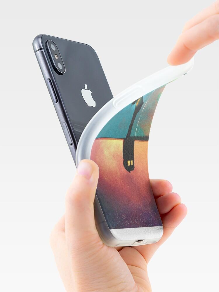 Alternative Ansicht von Frieden für einsame Monster iPhone-Hülle & Cover