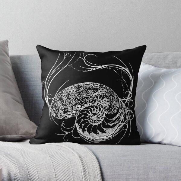Fantastic Shell Design Throw Pillow