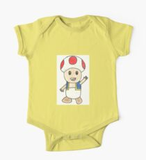 Toad Drawing One Piece - Short Sleeve