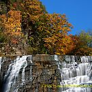 Autumn at the falls by PJS15204