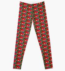 Olympia Poppy Leggings
