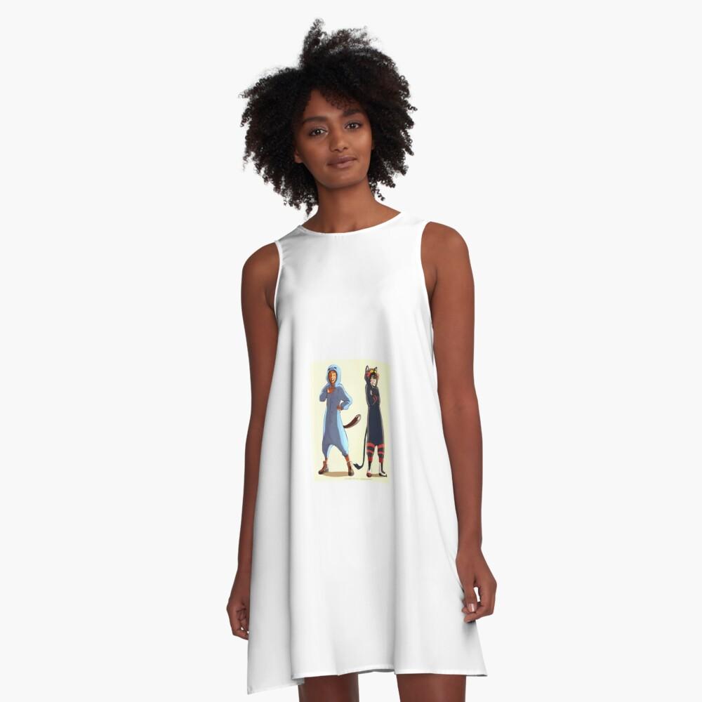 Klance as Pokemon A-Line Dress Front