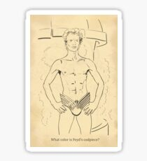 Dune Coloring Book Page -- Feyd's Codpiece -- Facebook Sticker