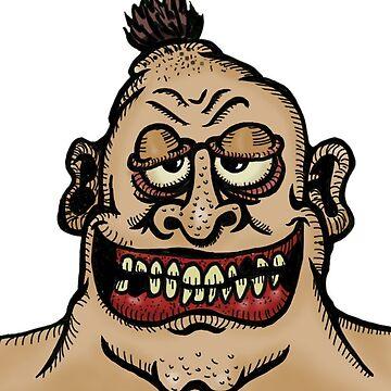 Big Ugly Guy by robertaccomando