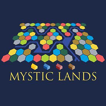 Mystic Lands by andreluiscorrea