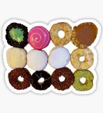 A Dozen Donuts Sticker