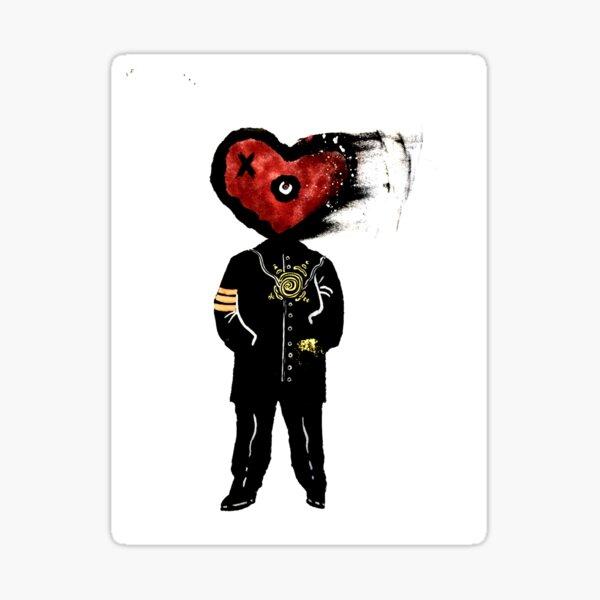 Head for Love Sticker