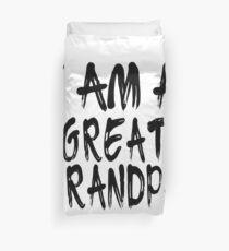 I Am A Great Grandpa Funda nórdica