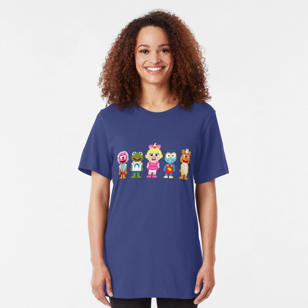 8-Bit BABIES! Slim Fit T-Shirt