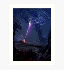 Storm Cruiser Art Print