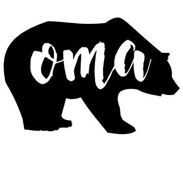 oma bear by schembri211
