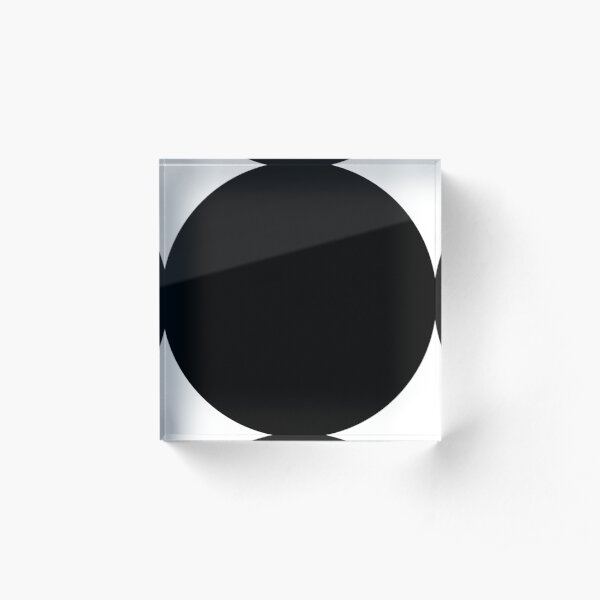 Pattern Acrylic Block