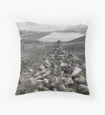 once upon a hill Throw Pillow