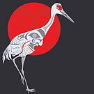 Sandhill Crane by Mark Gauti