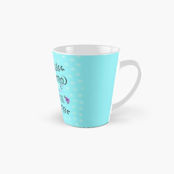 Chingona Como Mi Madre Blue Tall Mug
