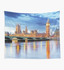 LONDON Skyline Wall Tapestry
