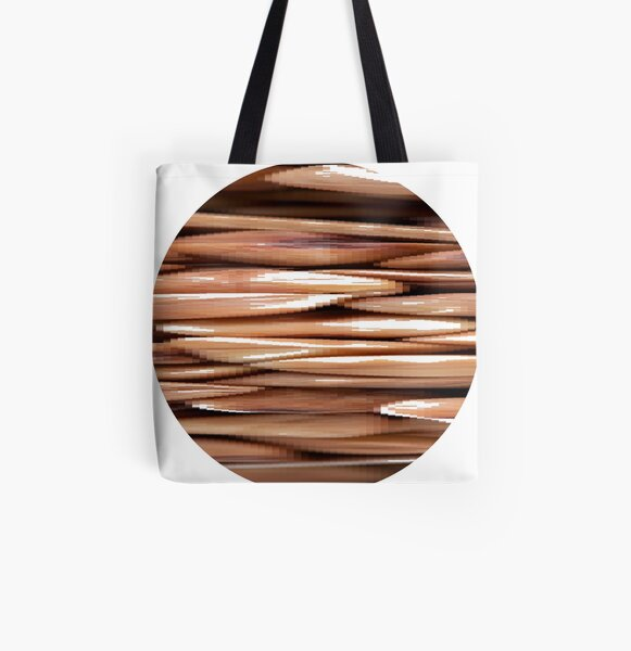 Pattern All Over Print Tote Bag