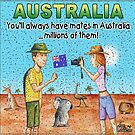 Aussie Moment - Australian Mates and Flies by iancoate
