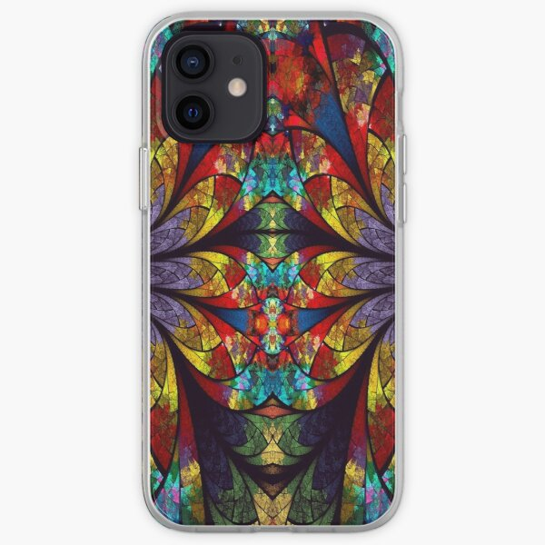 Cool Flower iPhone Soft Case