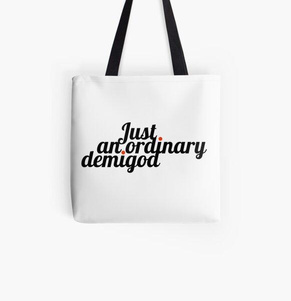 Just an ordinary demigod All Over Print Tote Bag