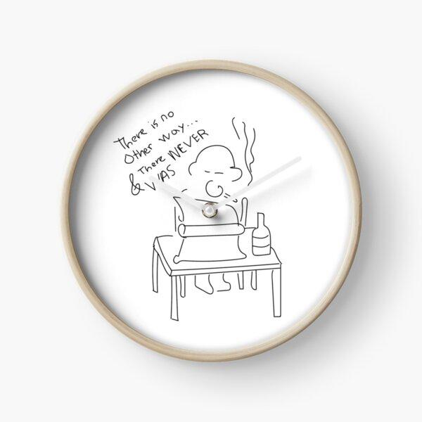 Bukowski writes Clock