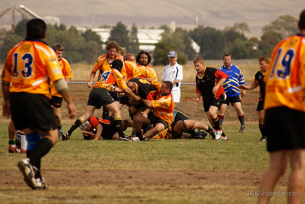 Masters Games - Rugby Union 2009 by JAKShots-Sports