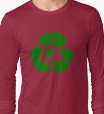 Earth Day Recycle Reuse Reduce Design Long Sleeve T-Shirt