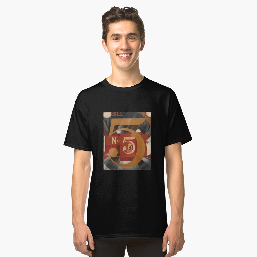 I Saw the Figure 5 in Gold - Demuth Classic T-Shirt