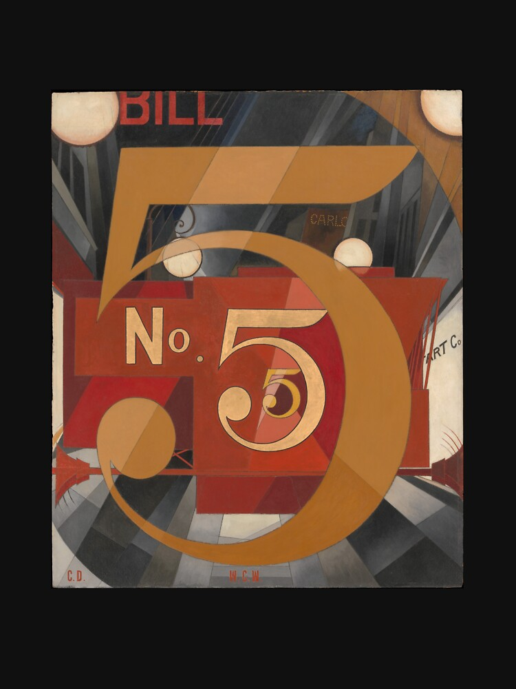 I Saw the Figure 5 in Gold - Demuth by warrengi