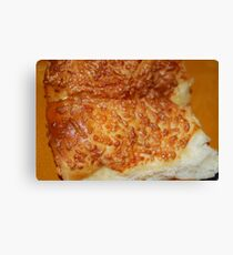 Cheese Rolls Canvas Print