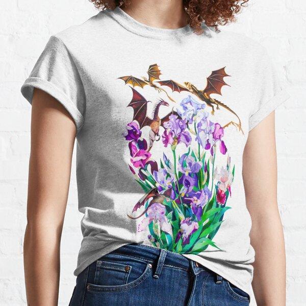 """Dragons in Irises"" Classic T-Shirt"