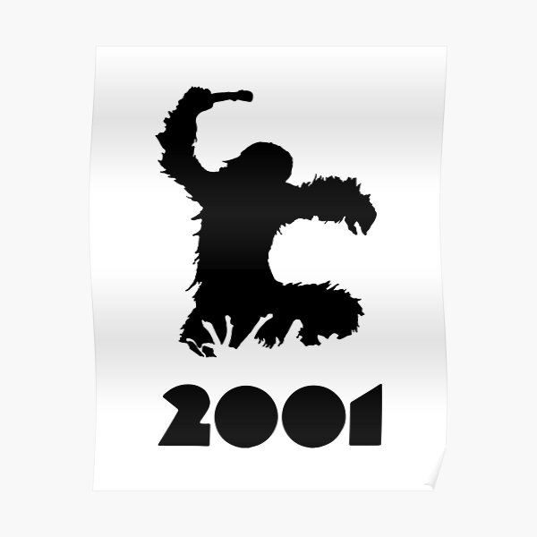 Kubrick Ape 2001 Poster
