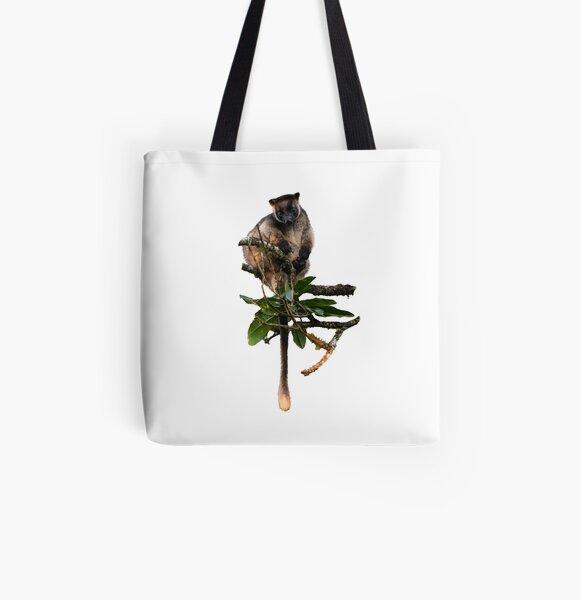 Tree Kangaroo Baby 2 All Over Print Tote Bag