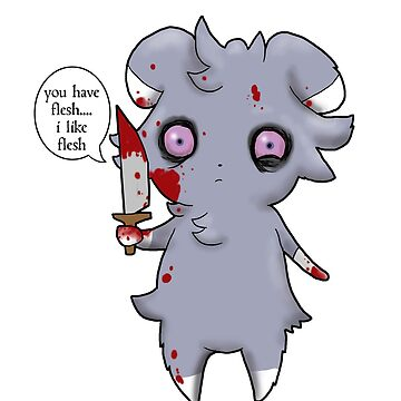 Espurr wants your flesh by ZombieRodent