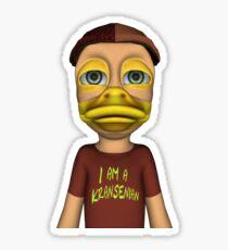I am a Kransenian Sticker