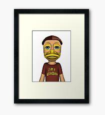 I am a Kransenian Framed Print