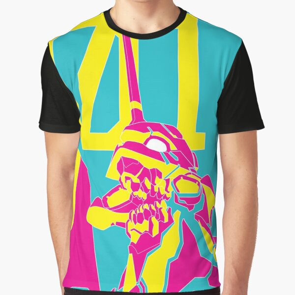NEON EVA_01 Graphic T-Shirt