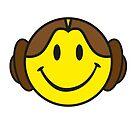 Leia Smiley by gradydraws