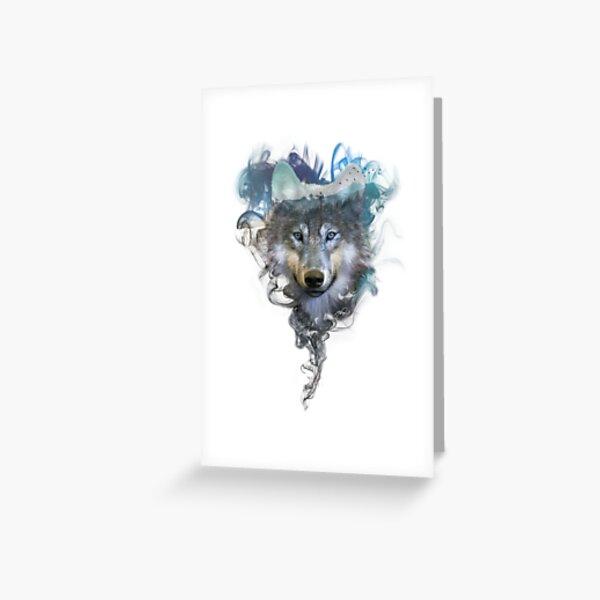 Wolf Spirit Animal Greeting Card