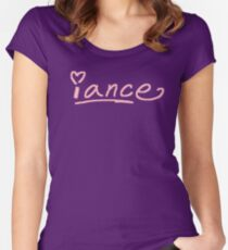 iance (podium logo) Fitted Scoop T-Shirt