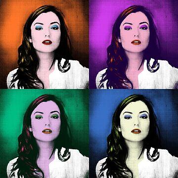 Pop Art Natasha Negovanlis  by jessycroft
