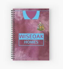Maidstone United 89-90 Away  Spiral Notebook