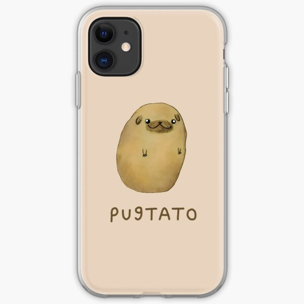 Pugtato iPhone Soft Case
