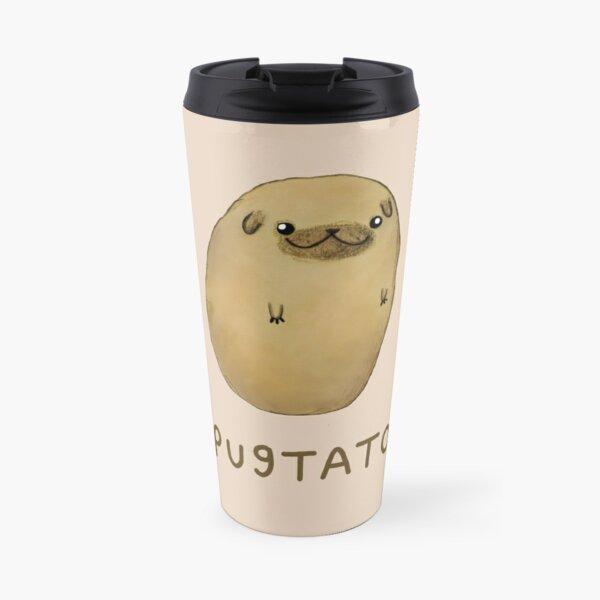 Pugtato Travel Mug