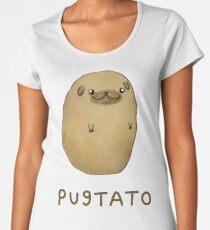 Pugtato Premium Rundhals-Shirt