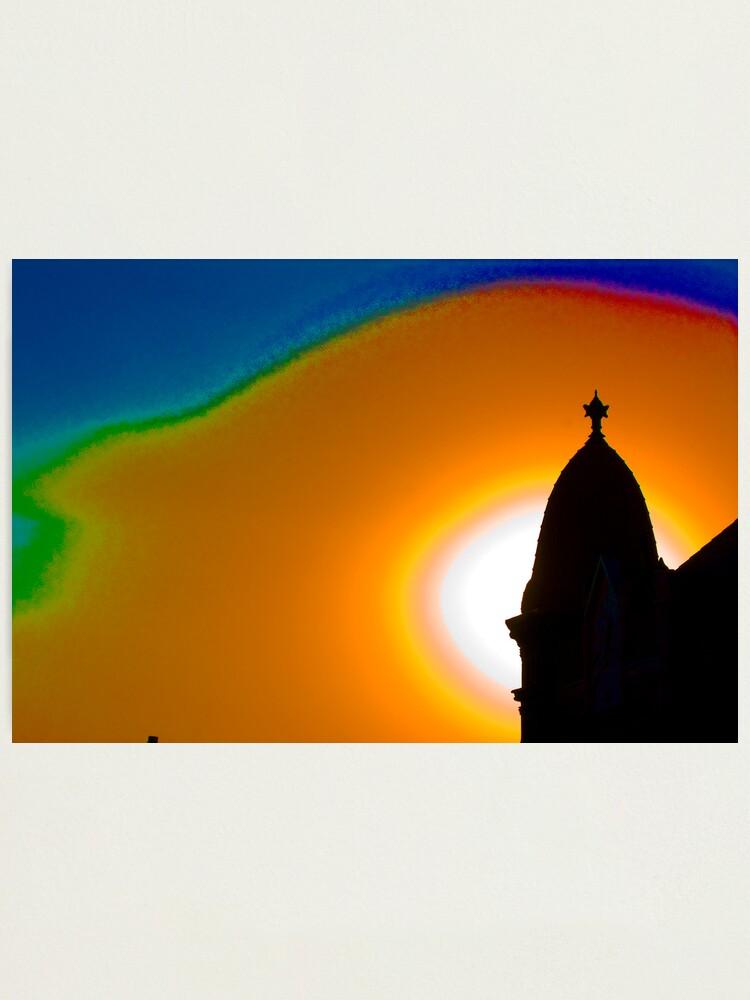 Alternate view of Cheyenne Sunrise Photographic Print