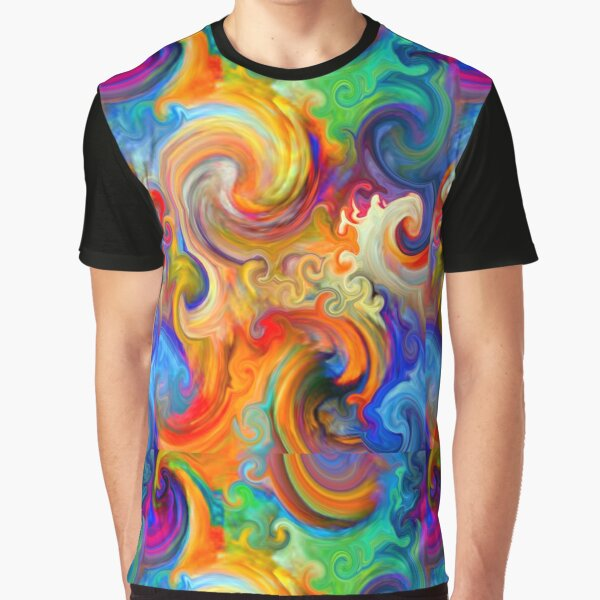 Mexican Ocean Wave Graphic T-Shirt