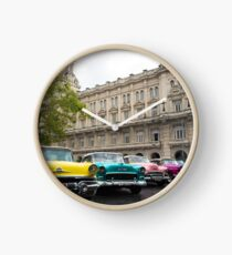havana cars Clock