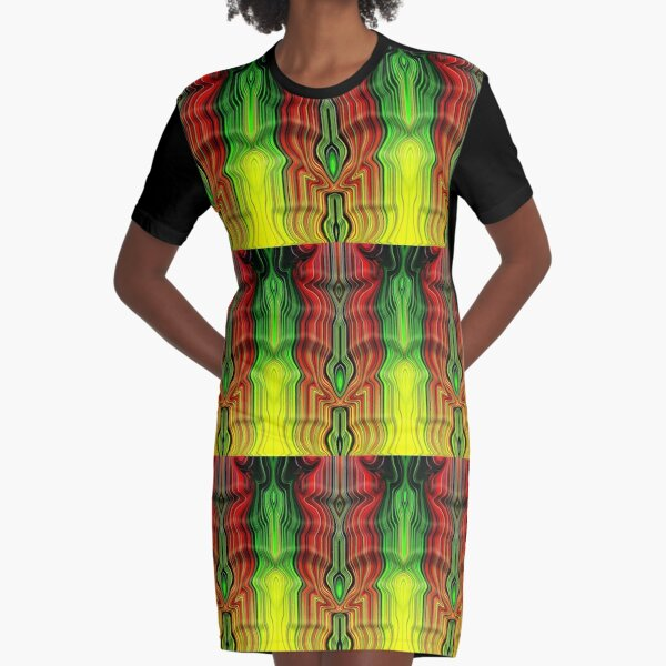 The River Graphic T-Shirt Dress